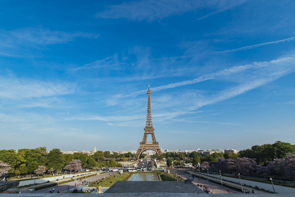 The Eiffel Tower from Place du Trocadero