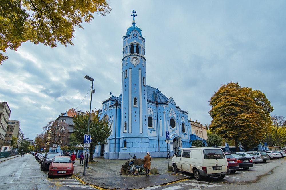 Church of Saint Elizabeth, Bratislava