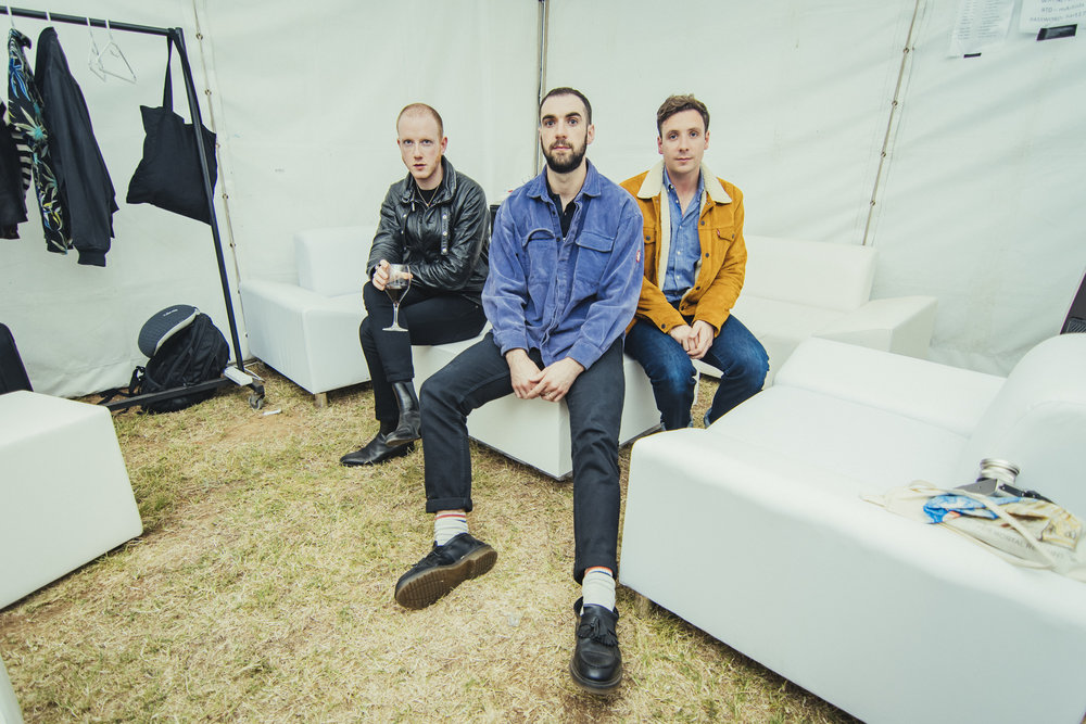 Two Door Cinema Club Backstage