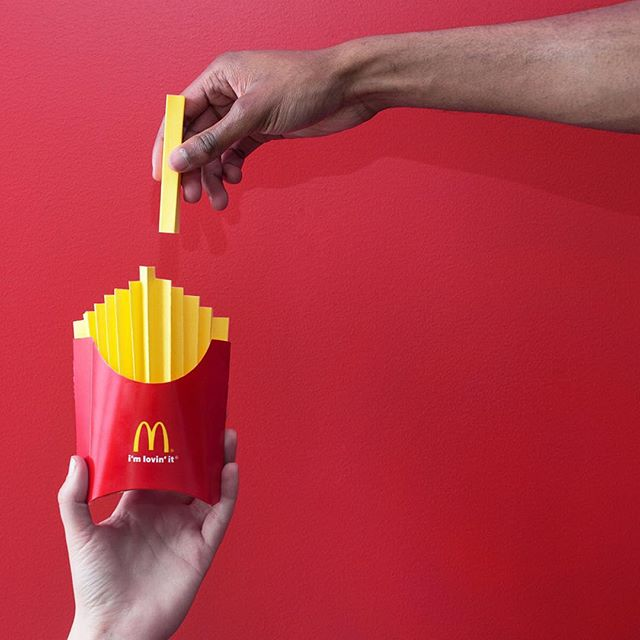 Masterfully crafted. #WorldFamousFries