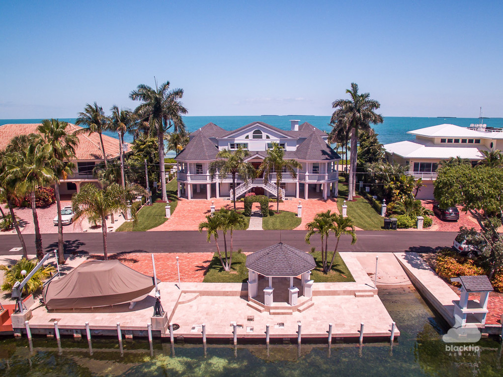 Florida Keys real estate aerial drone photography
