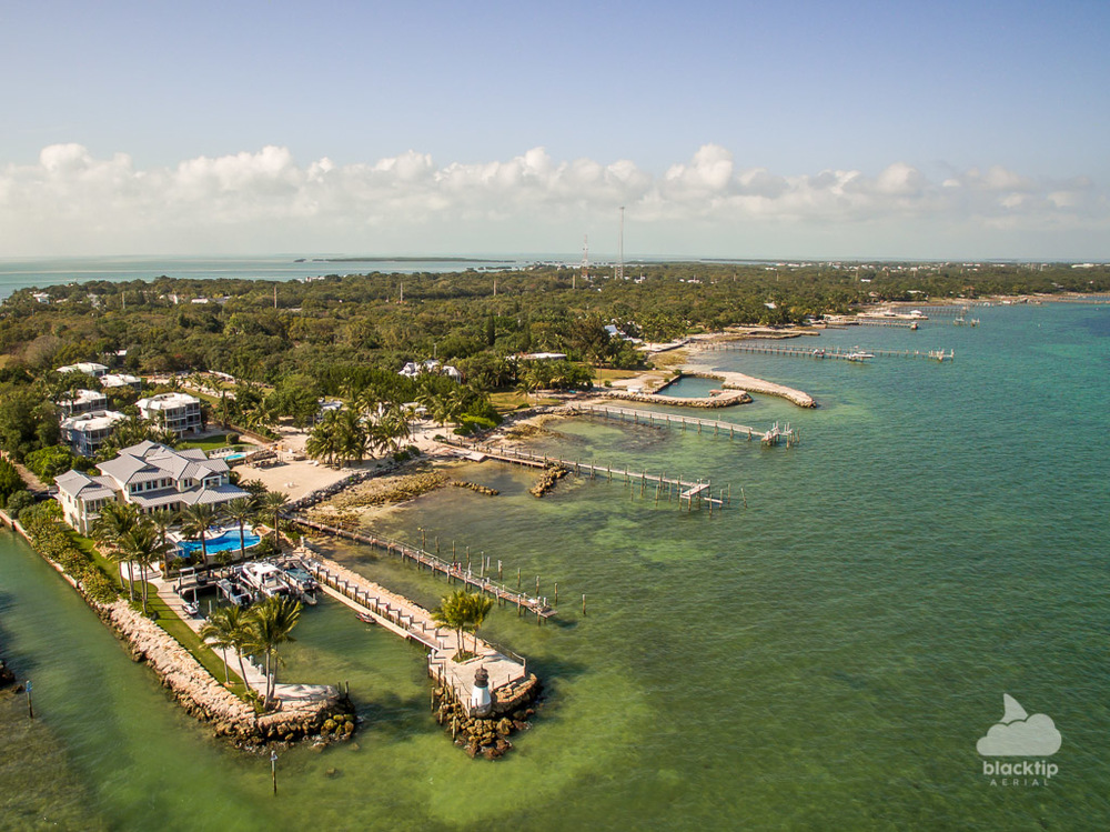 Island life drone photography Florida Keys Islamorada