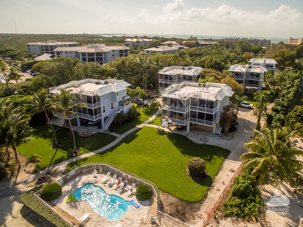 Islamorada condominium real estate aerial photography