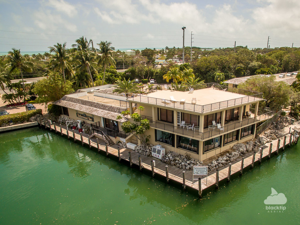 Key Largo Florida Keys real estate aerial drone photography