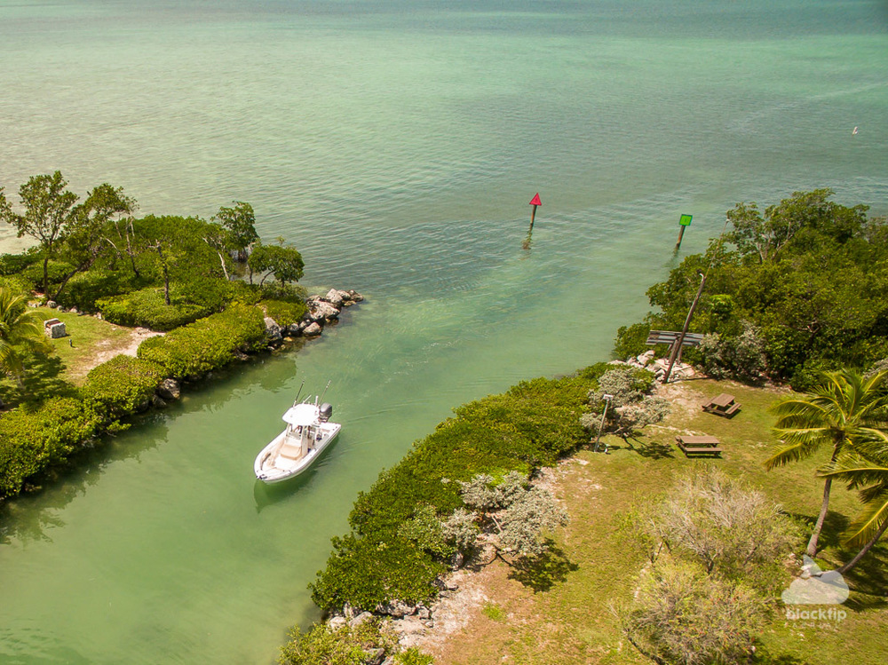 Florida Keys boat aerial photography and videography
