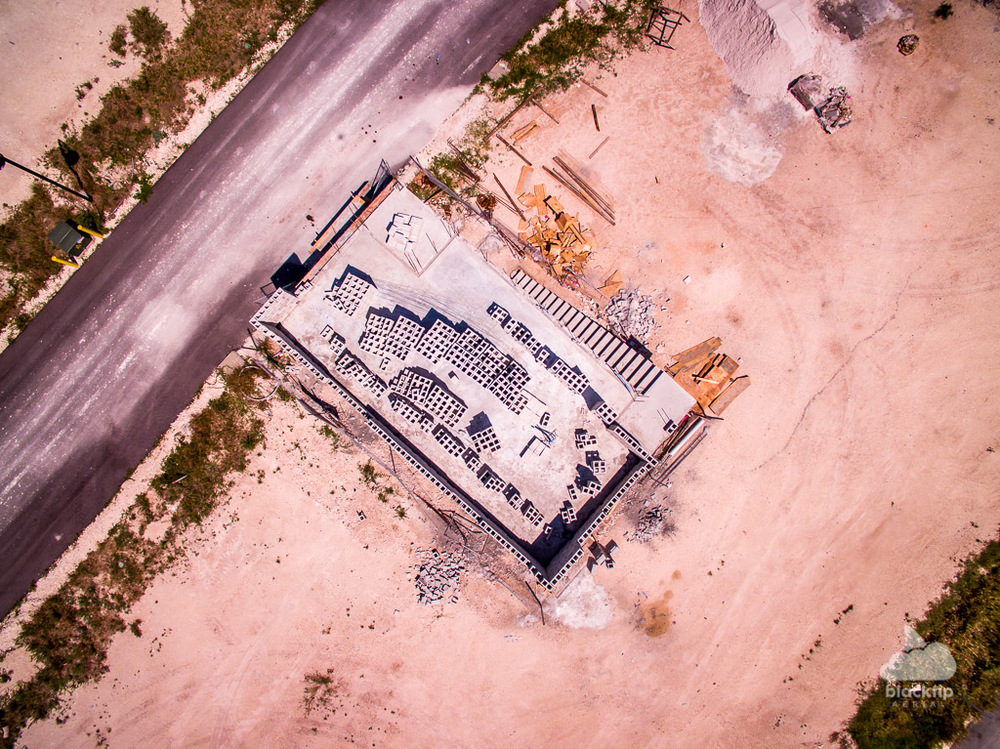 Key Largo Florida Keys construction progress aerial photography