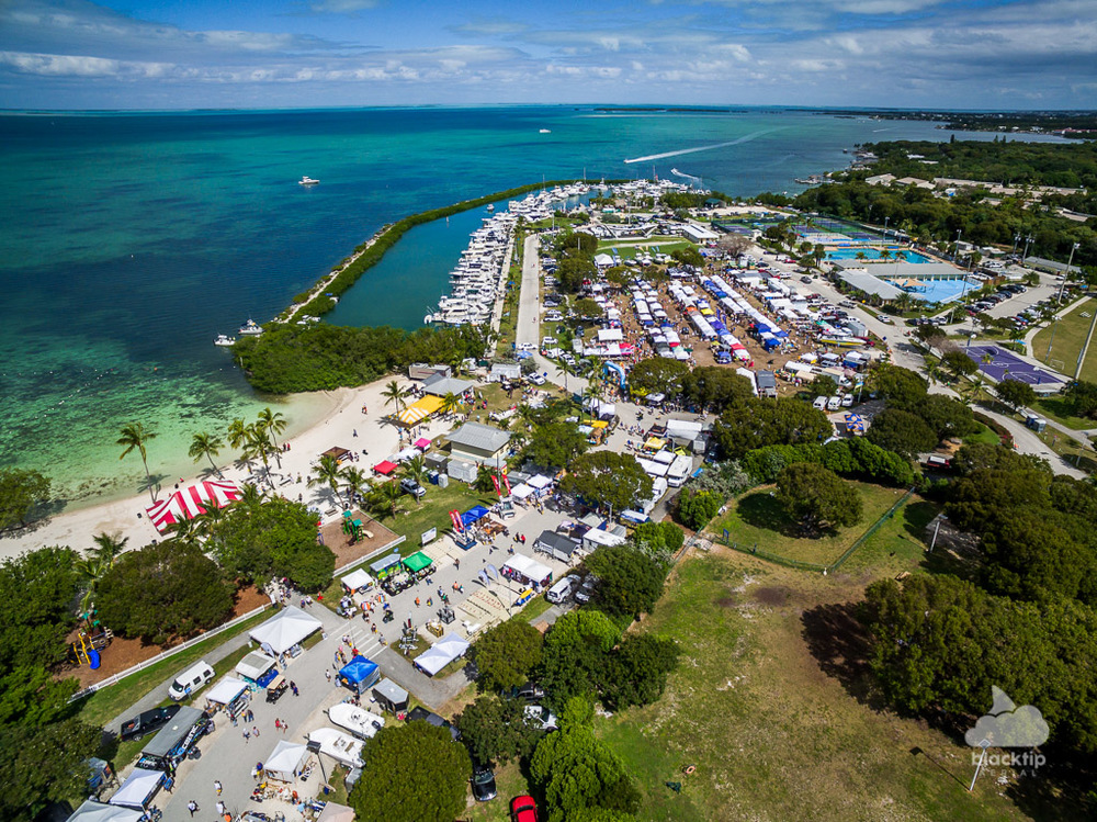 Islamorada Florida Keys aerial event photography