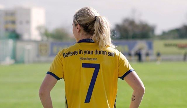We loved learning about the Swedish women's football teams changes to their shirts! https://www.theguardian.com/football/2017/mar/02/sweden-women-team-shirt-names-empowerment?CMP=share_btn_l