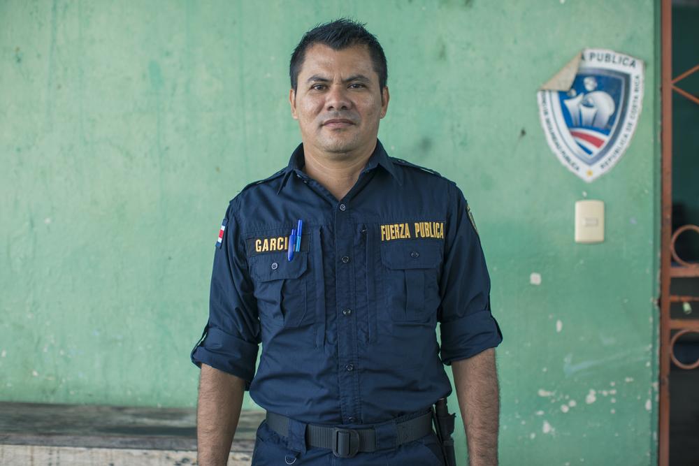 Con dedicación y perseverancia, el oficial García seguirá trabajando junto a las comunidades para mejorar la vida de los ciudadanos en el Golfo de Nicoya