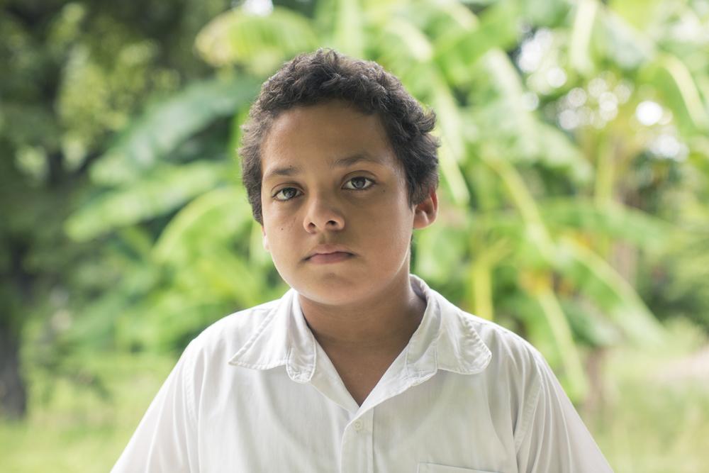 Joseph Reyes, con 11 años, ha sido testigo de los daños que se le han hecho al Golfo de Nicoya y sabe que su cuido depende de nosotros.