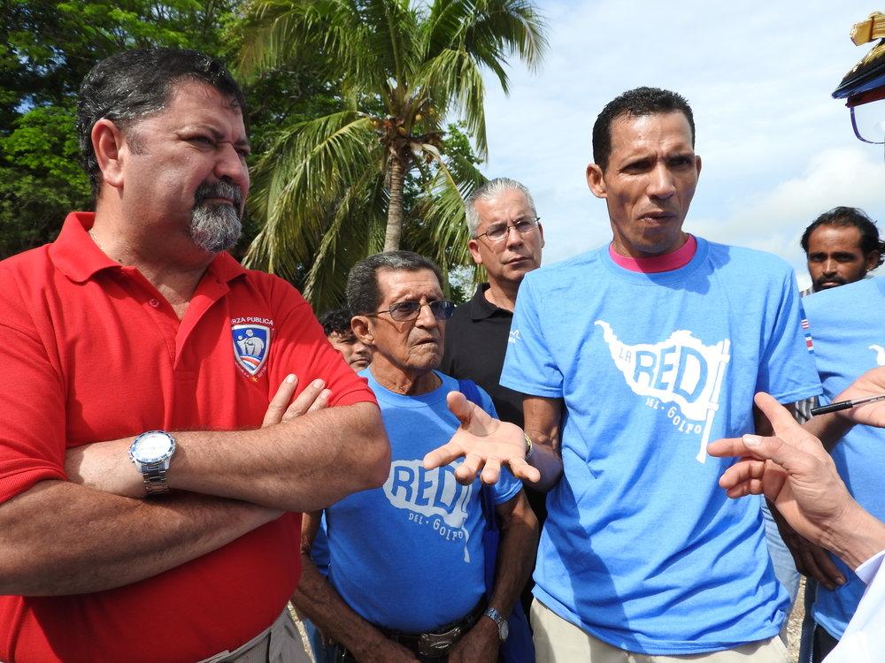 La Red habló con el Ministro de Seguridad, Gustavo Mata, y otras autoridades.