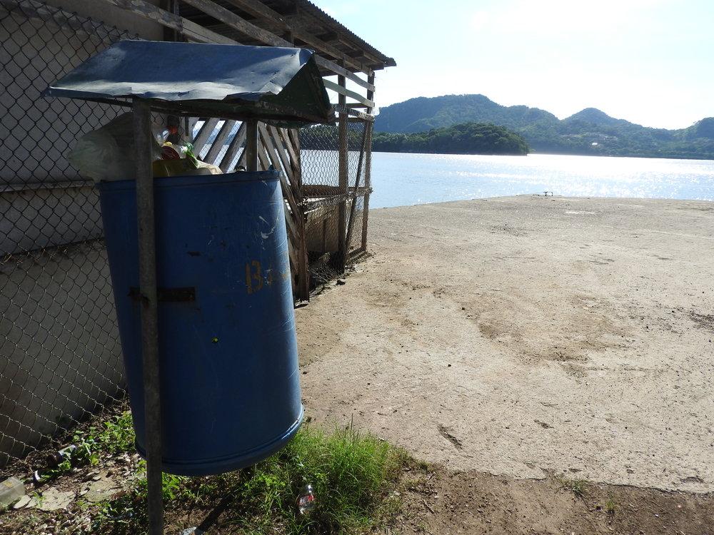 Puerto Níspero de Cañas es una comunidad pequeña, pero con pocos esfuerzos para la gestión de residuos.
