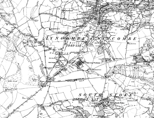 The area in 1887
