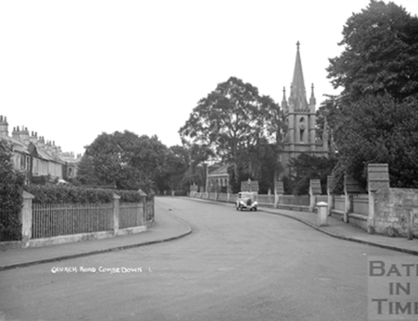 Church Road, Combe Down  c. 1930s