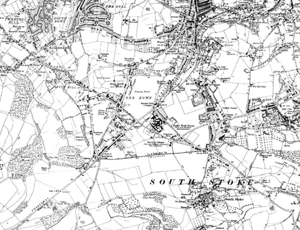 The  area in 1933