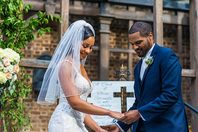 The unity ceremony is one of my favorite parts of the wedding day. 📷 @fotosbyfola . . . . . #atlantaweddingplanner #atlantaeventplanner #ravenj #weddinginspiration #weddingideas  #atlantaweddings #atlantabrides #engaged #ravenjevents #atlantawedding #bcollectivemagazine