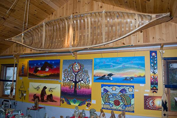 Ten Mile Point Trading Post and Gallery,  Bluewater Tourism