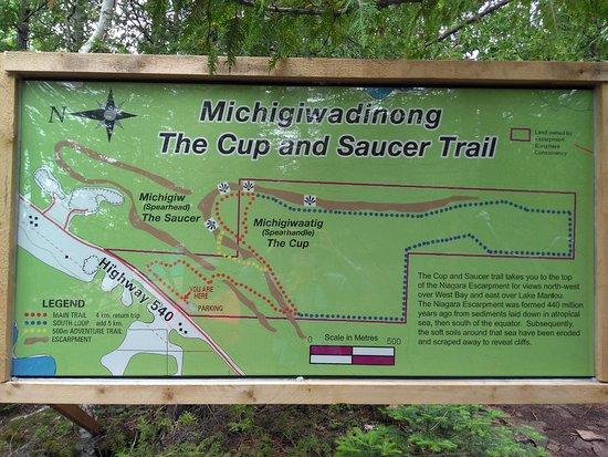Trail map (Photo:  TripAdvisor )
