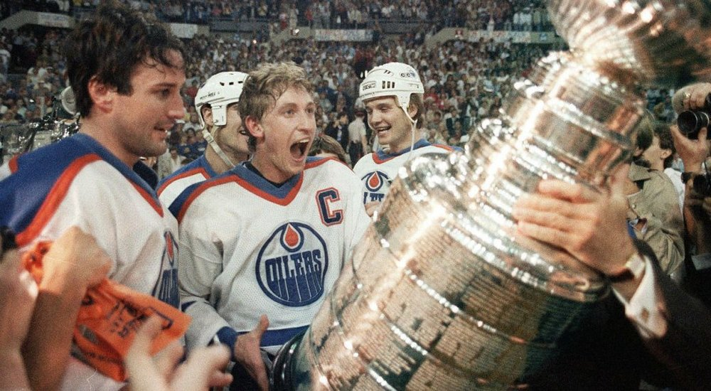 Gretzky's second Stanley Cup win. 1985 (Photo:  Sportsnet )