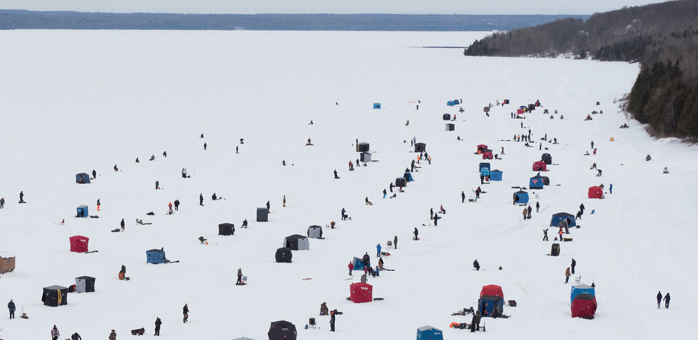 Wikwemikong Ice Fishing Derby (Photo:  Wiikwemikoong.ca )