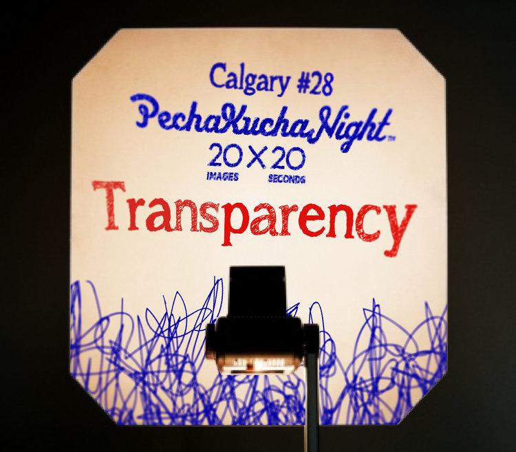"Pecha Kucha #28 ""Transparency"""