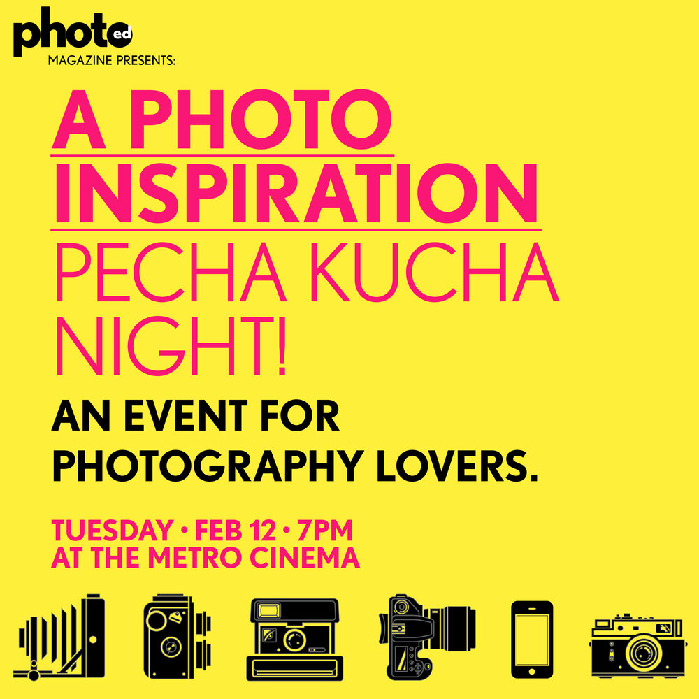 PhotoED Magazine INSPIRATION Pecha Kucha