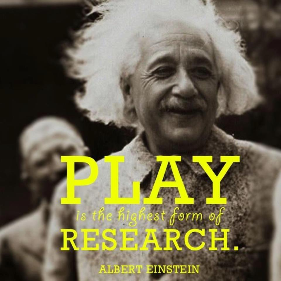 There is a reason we play, it serves a very 'serious' purpose in our lives.