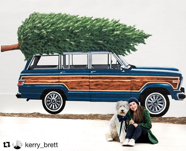 New mural is live! #derbywoodywall 🌲 #Repost @kerry_brett ・・・ When Art Inspires! 📸 Introducing The Woody Wagon Mini Sessions. Each will be unique and equally cute! I'll be booking sessions during the next few weeks. Email or call for details. Limited to the first 20 families. @derbystreetshoppes @studiofreshboston @morganhurleyyy #derbystreetart  #thisoldwoody #hingham #holidayseason #southshorephotographer