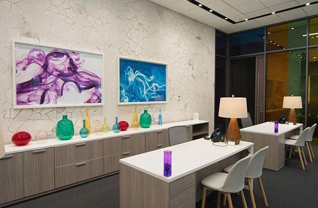 Escape the 🌧🌨 with a room like this! #artforallsettings #BAinstall @lanteraboston