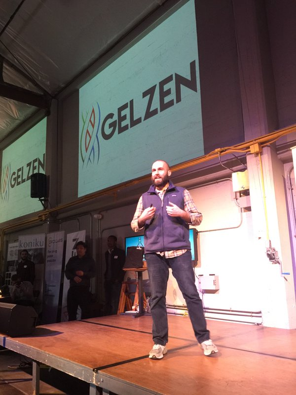 CEO of Gelzen Alex Lorestani