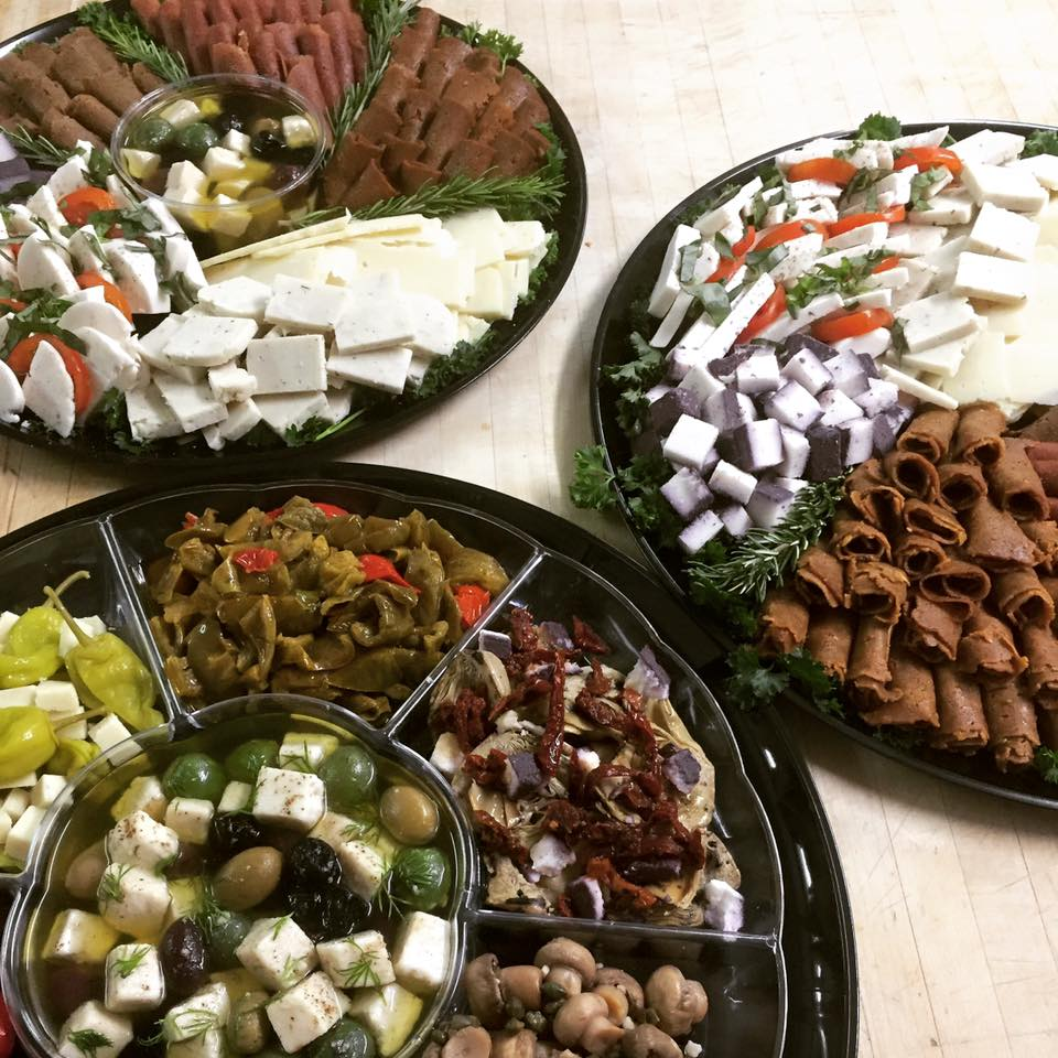 The Butcher's Son gourmet deli platters