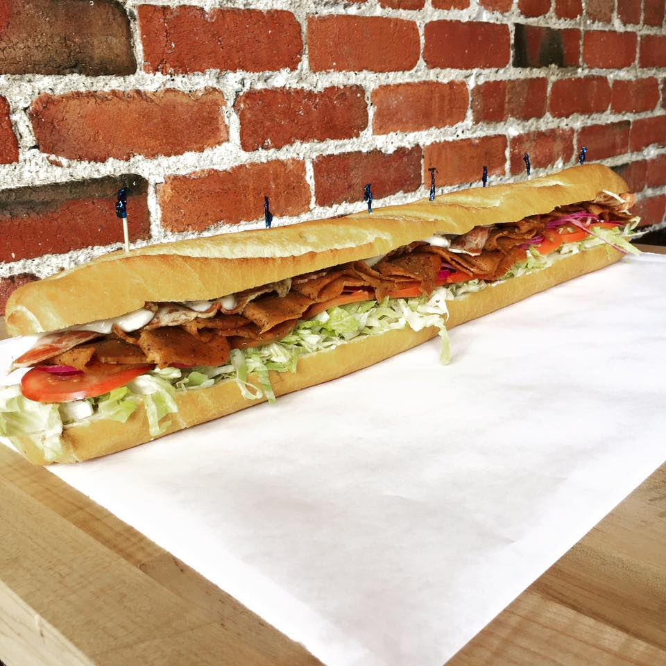 A serious 2-foot hoagie