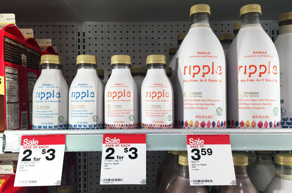 Ripple for sale at Target stores. (Photo: krazycouponlady.com)