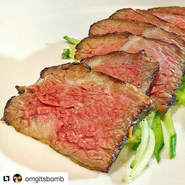 Meat is such an amazing food - that's why culturing it without animals is a super exciting challenge! One day, this steak will be made directly from cultured muscle, no cows necessary!  #Sustainability #Innovation #Meat #steak  #climatechange #biotech #startups #food #culturedmeat #beef
