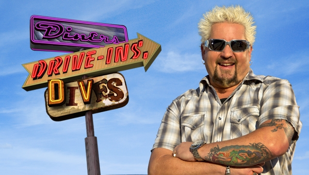 Drive-Ins, Diners and Dives host, Guy Fieri