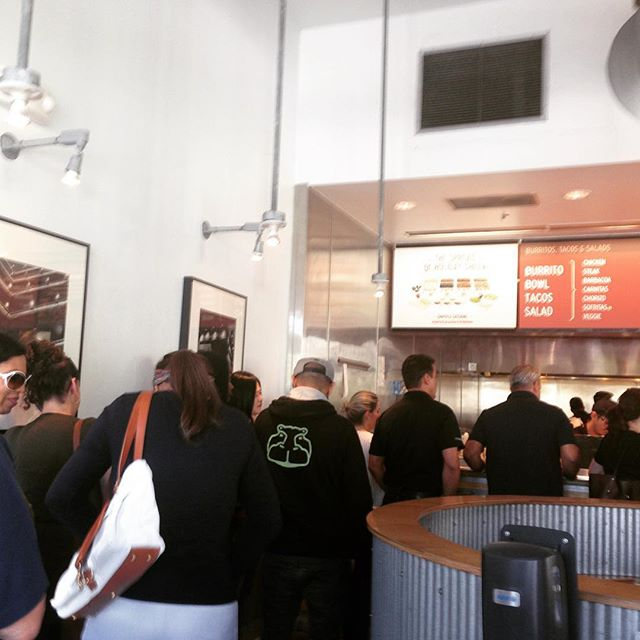 One day people on the Chipotle line will be waiting for delicious steak, pork and chicken made from plants or clean meat. Let's make that future happen! #MakeMeatBetter  #meat #sustainability #chipotle #beef #pork #chicken #tacos #miami