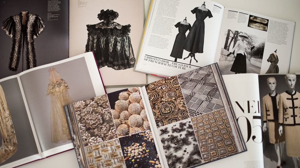 Books about Paris Haute Couture