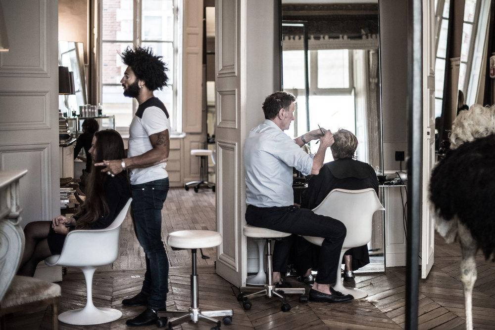 Haircut from Paris