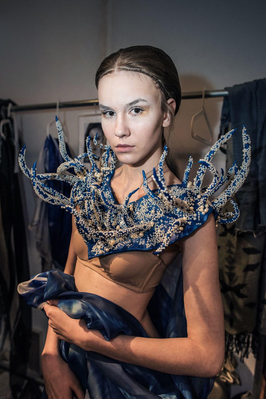 Olga Noronha Backstage
