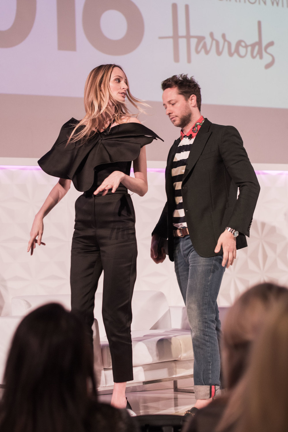 Lauren Santo Domingo and Derek Blasberg