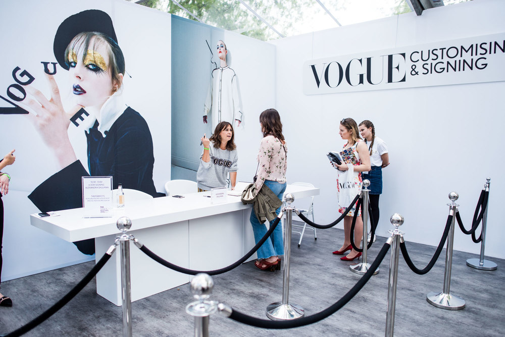 Alexandra Shulman at Vogue Festival 2016