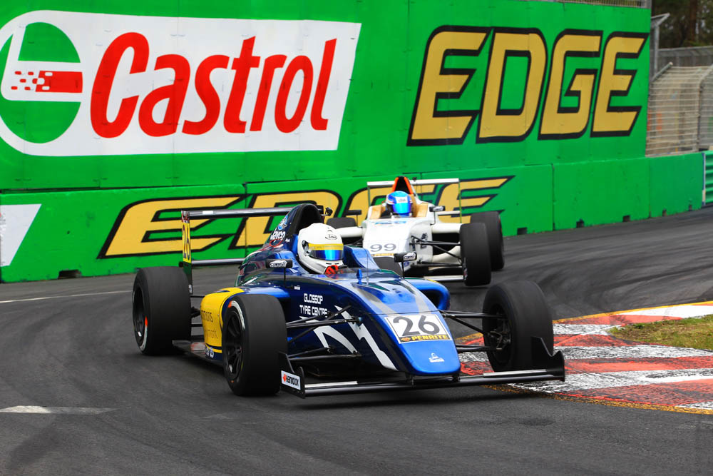 Will battles with Harry Hayek during the Gold Coast F4 round