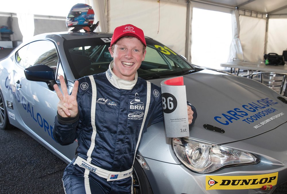 Will Brown is the 2016 Toyota 86 Series champion
