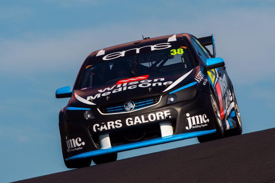 Will Brown is seen competing at Bathurst
