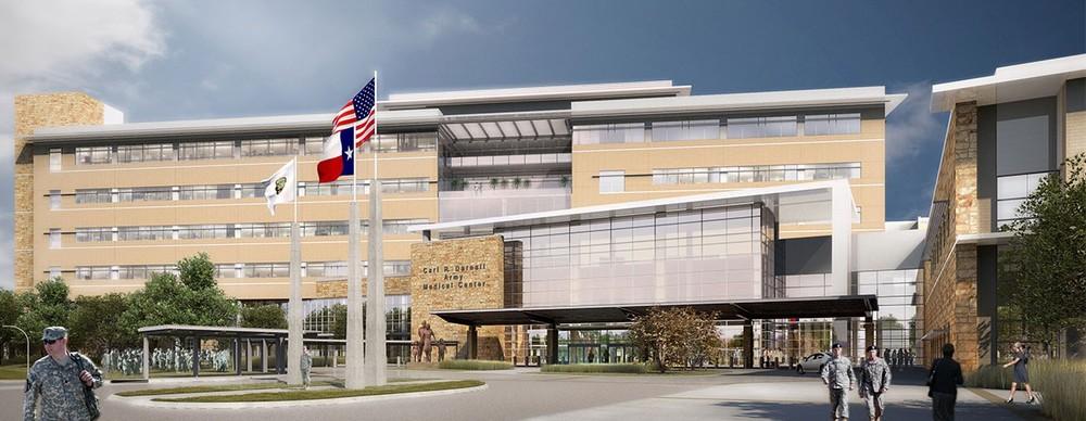 The new Ft. Hood Hospital