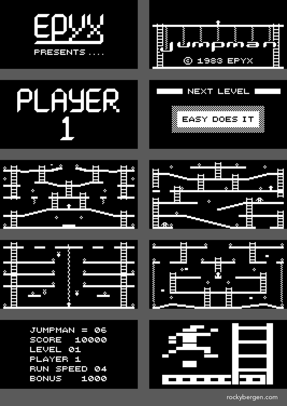 With a little imagination, my Arduboy graphics are almost as good as the original!