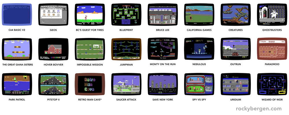 Choose from 24 different monitor screenshots.
