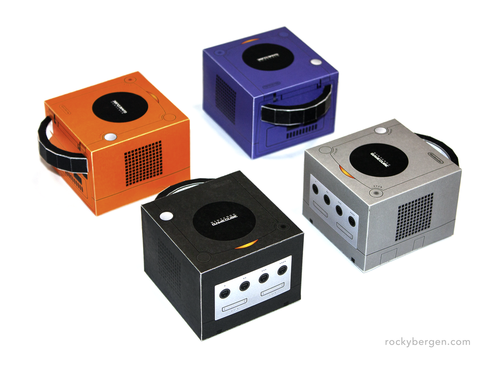 Nintendo GameCube - Family Portrait