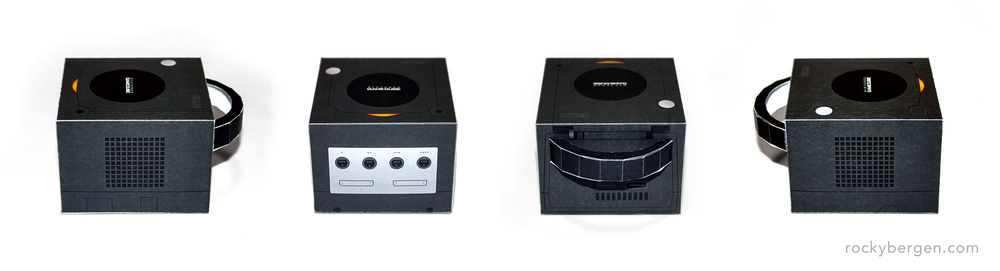 Black and Indigo were the base-level GameCube models.