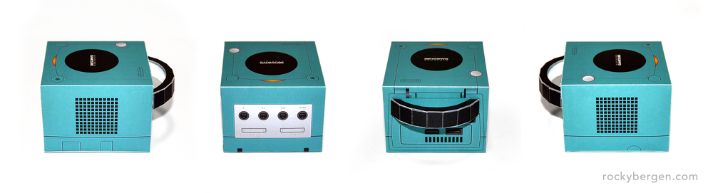 GameCube Development Kits came in many colours including Emerald Blue.